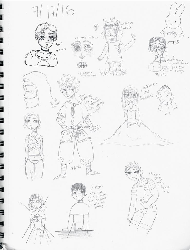 sketchbook by cr4ckeur