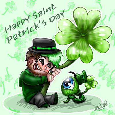 Happy Saint Patrick's day Jacksepticeye  by jessicathechips