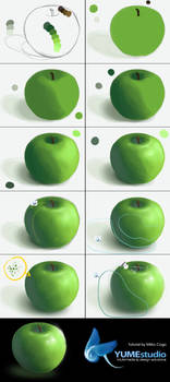 Apple tutorial by michan