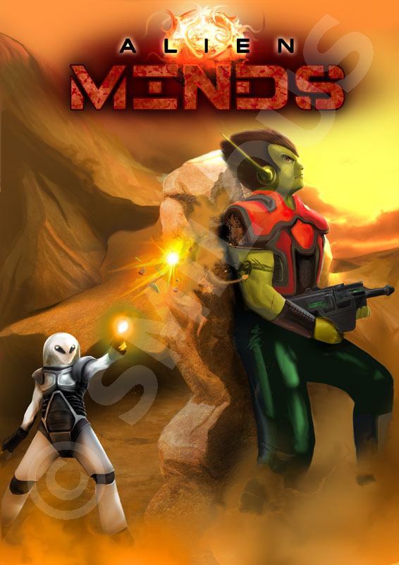 Alien Minds by michan