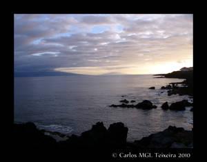 Sunset in the Atlantic