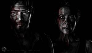 The Walking Dead cast: Daryl/Carol