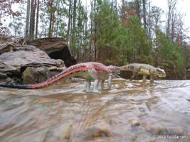 Postosuchus alisonae VS Postosuchus kirkpatricki by Carnosaur