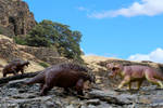Scutosaurus VS Inostrancevia