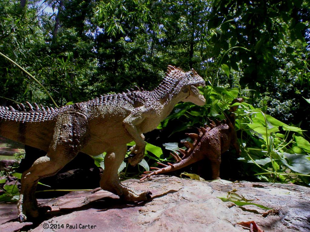 carnotaurus feinde schule