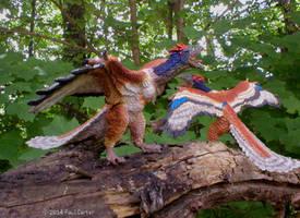 Archaeopteryx. by Carnosaur