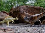 Carcharodontosaurus VS Spinosaurus.