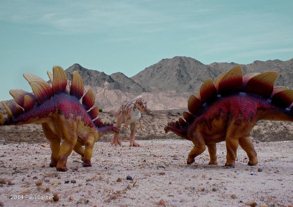 Carnosaur's Dinosaur art