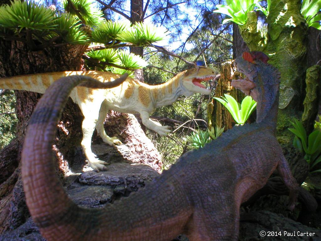 Cryolophosaurus Jurassic Park