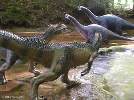 Allosaurus VS Apatosaurus 2 by Carnosaur on DeviantArt