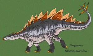 Stegosaurus Stenops by Carnosaur