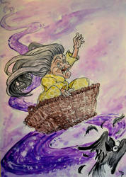 The Rider Of Lunacy by LizzartsLounge