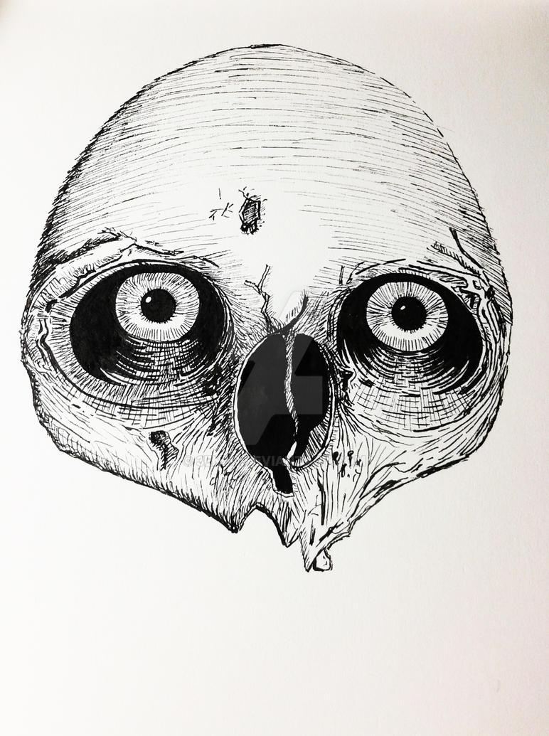 Skull Print by 3enzo