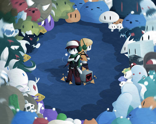 Cave Story Wallpaper Colored