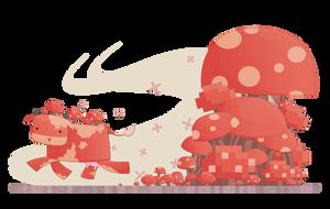MOOSHROOM! by watermeloons