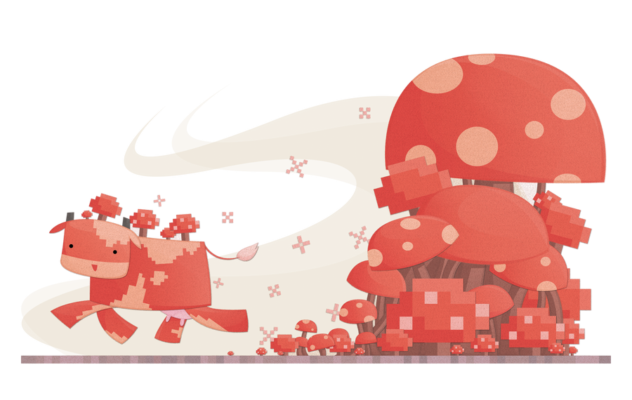 MOOSHROOM By Watermeloons On DeviantArt