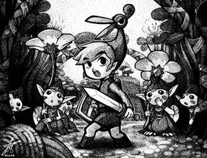 Zelda - Minish Cap Stipple