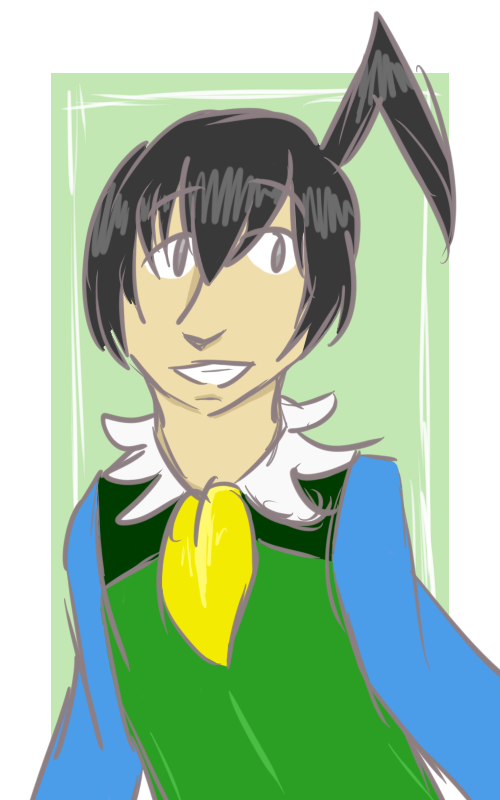 Allegro Colored Sketch By Ginseng Cielo On Deviantart
