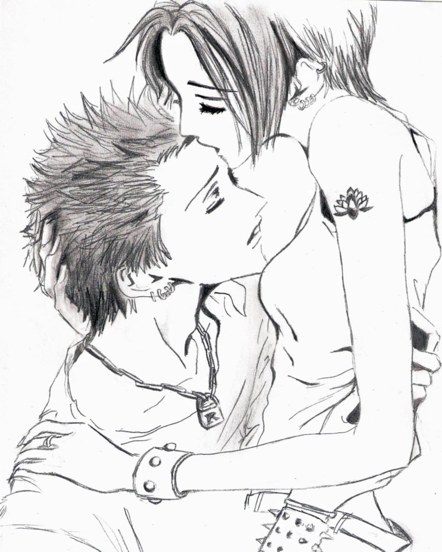 Nana And Ren By Kirie42 On DeviantArt