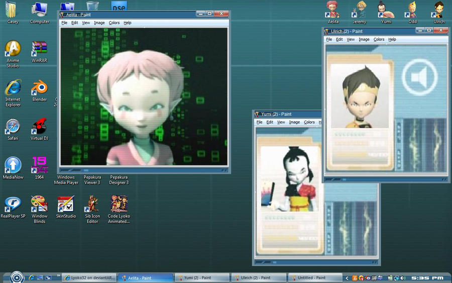 Code Lyoko Supercomputer Theme by Lyoko32