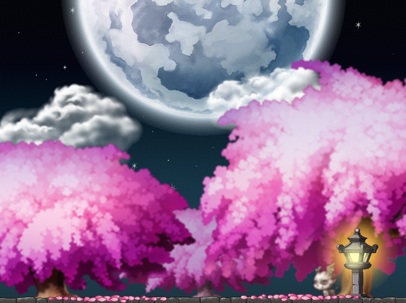 Cherry Blossom Field Custom Map By EightQueens