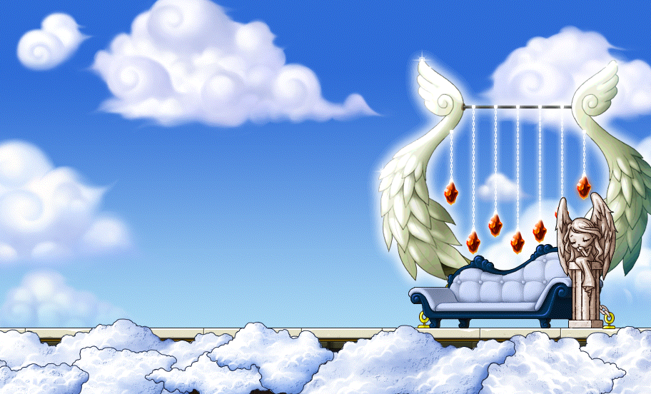 Angelic Throne Custom Background By EightQueens