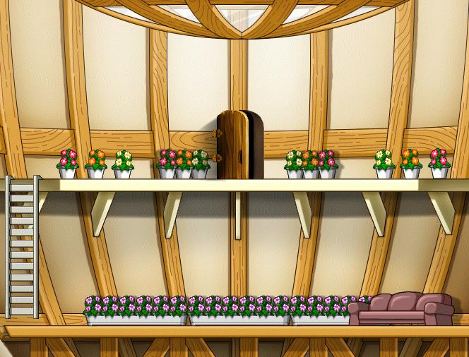 Flower Room Custom Background By EightQueens