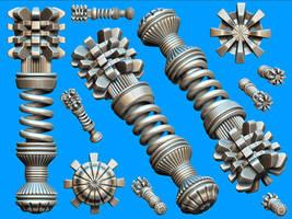 Misc Objects 001 by pixelchemist-stock