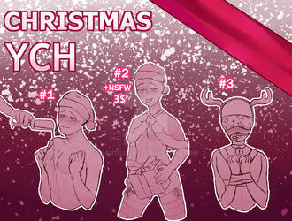 [CLOSED] Set price YCH   Merry Christmas~ by NautilusOO