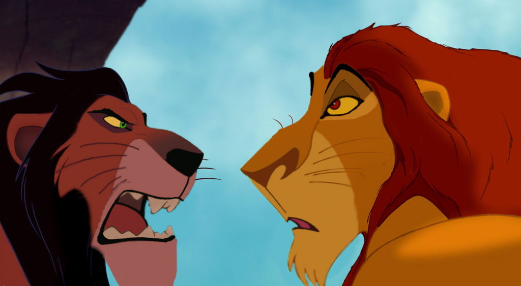 The lion king mufasa and scar - photo#11