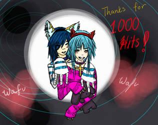 1000 Hits by Kiyo-chan666