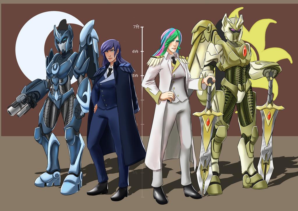 Legion Commanders by smilingDOGZ