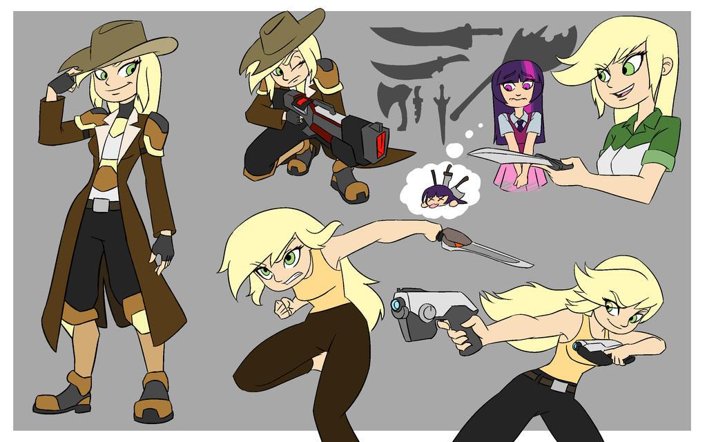 AJ Cartoon Style by smilingDOGZ