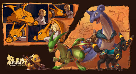 Pokemon Gaiden3 by OhDarnnitJerry