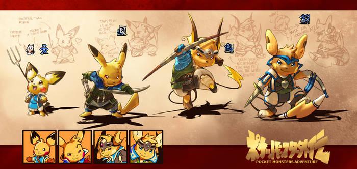 FE Gaiden Pikachu Edition