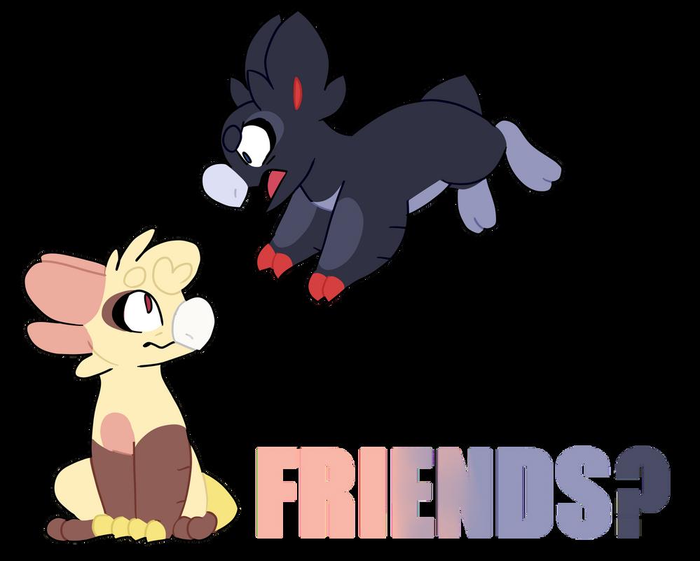 my children need friends/enemies (Wyngro) by LianeART on