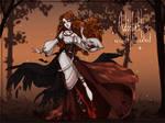 (CLOSE) 32 - autumn witch ADOPTABLE