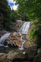 The waterfall Popina laka / Pirin, Bulgaria