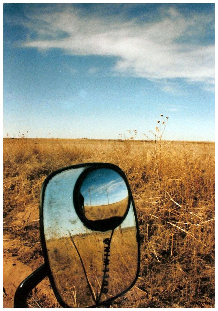 Colorado cracked rear view by TeaRoseMoon