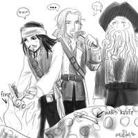 Pirates of the Takoyaki by ilmenhin
