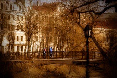 Riga City, Park Photography