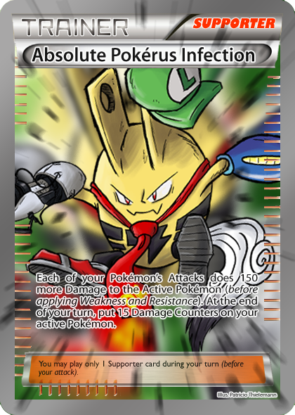 Pokerus FakeCard by Patrick-Theater on DeviantArt