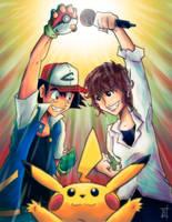 Ash Ketchum and Rica Matsumoto