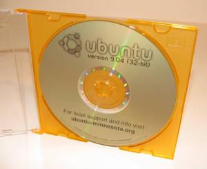 Ubuntu LiveCD Cover