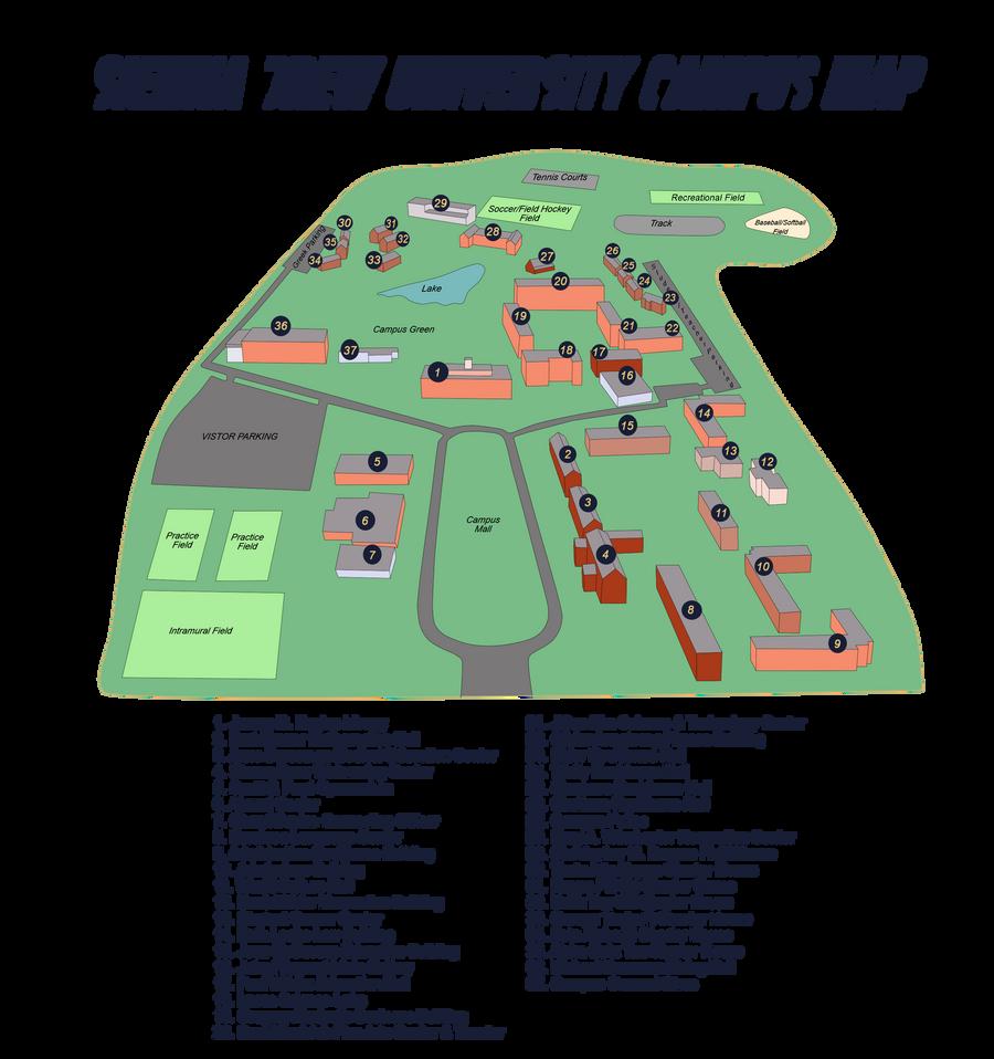 Sdu Campus Map By Sabaku No Sirri10 On Deviantart