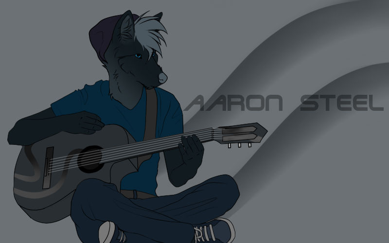 Tikar Playing Guitar
