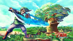 Zelda Skyward Sword by silver-hero