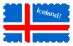 Iceland Stamp by AshtonSHellwig