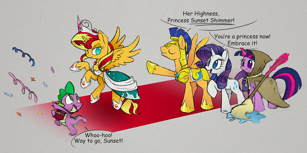 Sunset Shimmer Is Best Pony Fimfiction