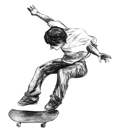 Boy Skater by ~Cutie1527 on deviantART